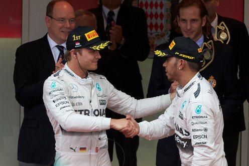 Rosberg was a surprise winner in Monaco. © Mercedes AMG PETRONAS F1 Team