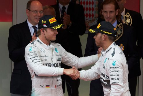 Rosberg was a surprise winner in Monaco. © Mercedes AMG PETRONAS F1 Team