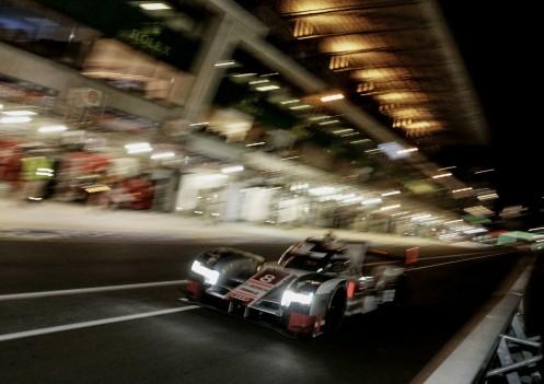 Jarvis partner Loic Duval and Lucas di Grassi in the #8 Audi. © Audi Motorsport