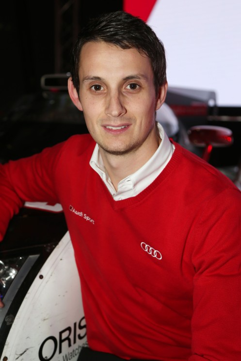 Jarvis moved to the #8 Audi LMP1 this year. © Audi Motorsport
