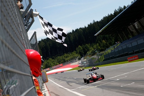 Jake Dennis (GBR, Prema Powerteam, Dallara F312 – Mercedes-Benz), FIA Formula 3 European Championship, round 8, race 1, Red Bull Ring (AUT) - 31. July - 2. August 2015. © FIA Formula 3 Media Services