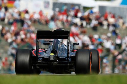 Jenson Button in action.  © McLaren Honda F1 Team.